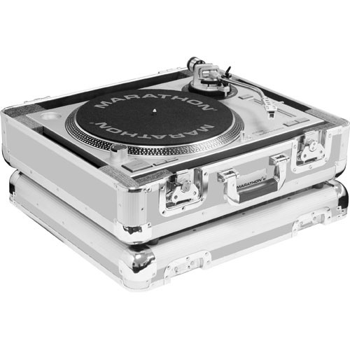 Marathon MA-ETT E Series Turntable Case (Silver)