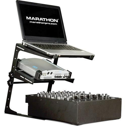 Marathon Universal Laptop Stand with Shelf