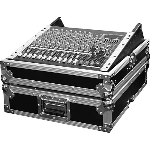 "Marathon MA-M19R 19"" Mixing Console Case with 12 Spaces with Rackmount (Black)"