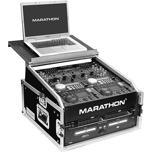 Marathon MA-M3ULT Flight Road Slant Mixer Combo with Laptop Case