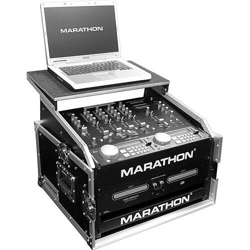 Marathon MA-M4ULT Flight Road Slant Mixer Combo with Laptop Case