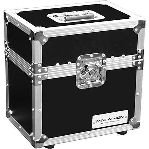 Marathon MA-MIC12S Flight Road 12 Microphone Case with Compartment (Black)
