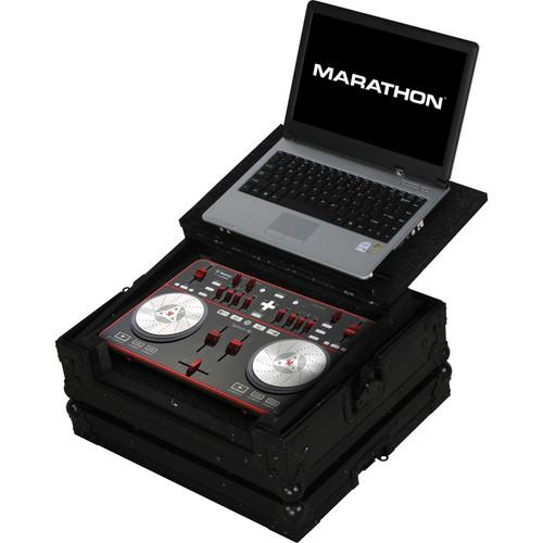 Marathon Case For Vestax Typhoon Music Controller W/ Laptop Shelf (Black)