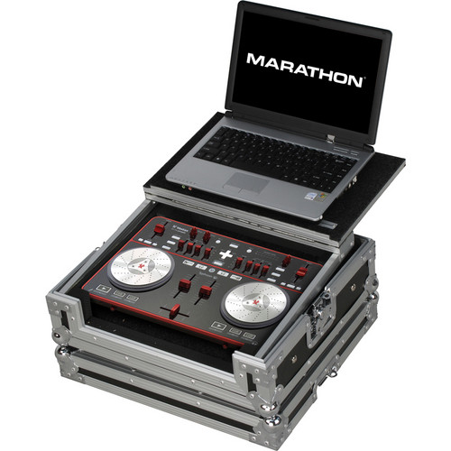 Marathon Case For Vestax Typhoon Music Controller W/ Laptop Shelf