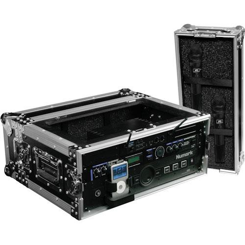 "Marathon MA-WM4U 4U 19"" Flight Road Rackmount Wireless Case"