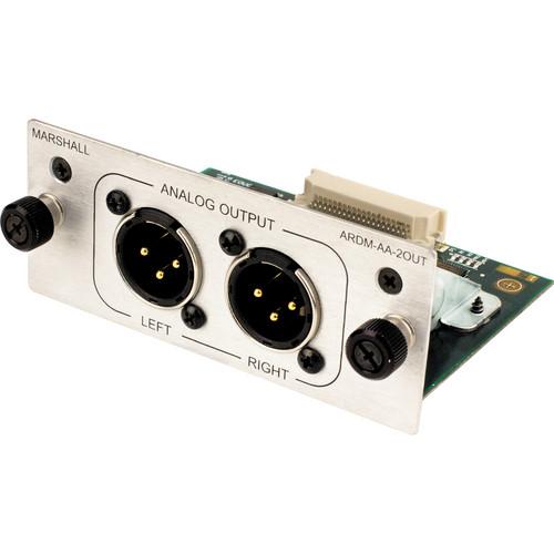 Marshall Electronics 2 BALANCE XLR ANALOG OUTPUT AUDIO