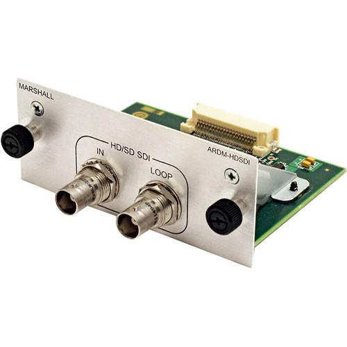 Marshall Electronics ARDM-HDSDI Input Module for AR-DM2-L Audio Monitor