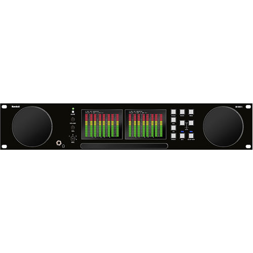 Marshall Electronics ARDM2L 16 Channel Audio Monitor with Dual High LCD