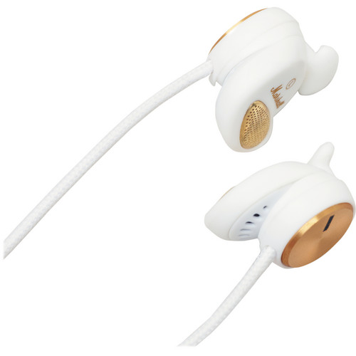 Marshall Audio Minor In-Ear Stereo Headphones with Mic and Remote (White)