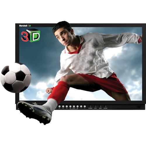 "Marshall Electronics 3D-241-HDSDI 24"" Stereoscopic 3D LCD Monitor"