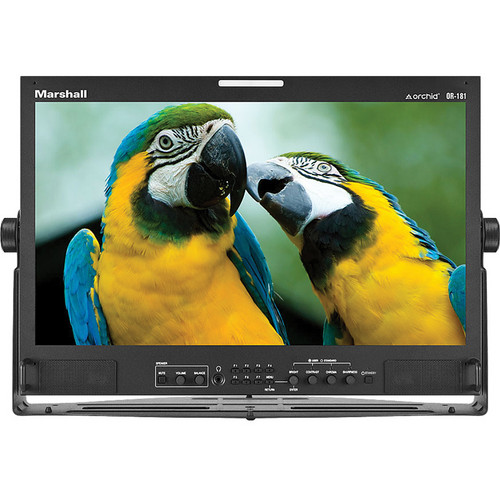 "Marshall Electronics 18.5"" Orchid Rack Mount LCD Desktop Monitor"
