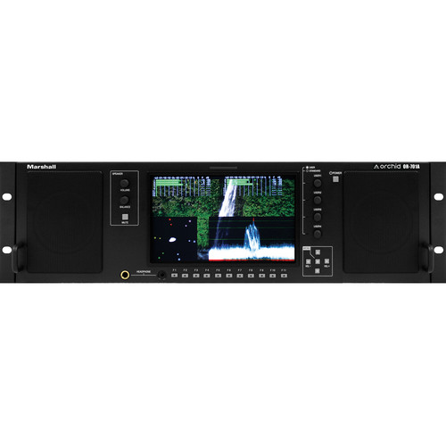 "Marshall Electronics OR-701A 7"" Audio/Video Rack Mount LCD Monitor"