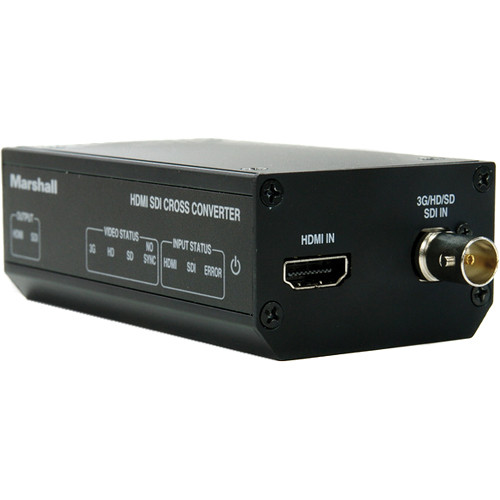 Marshall Electronics Battery-Powered 3G-SDI to HDMI Cross Converter (PM- Panasonic)