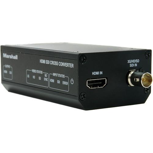Marshall Electronics Battery-Powered 3G-SDI to HDMI Cross Converter (PV- Panasonic)