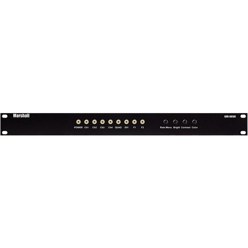 Marshall Electronics Quad Viewer Control Box (1 RU Mount Enclosure)