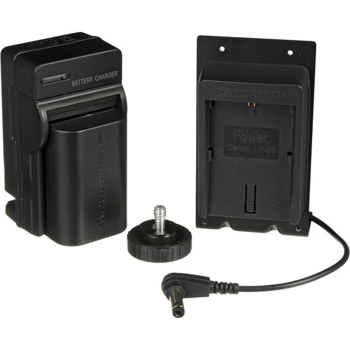 Marshall Electronics DSLR Battery Adapter Kit for V-LCD50 On-camera Monitor (Canon LP-E6 / 7.2V Compatible Battery)