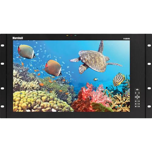 "Marshall Electronics 17"" Rack Mount LCD Monitor with Dual HD-SDI"