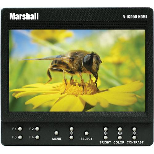 "Marshall Electronics 5"" On-Camera Monitor"