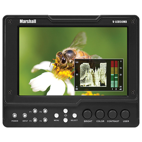 "Marshall Electronics V-LCD56MD 5.6"" HDMI On-Camera Monitor"