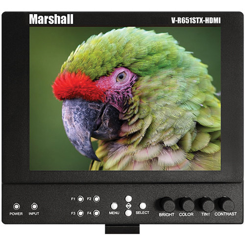 "Marshall Electronics V-LCD651STX-HDMI-CM 6.5"" Lightweight On-Camera Field Monitor"
