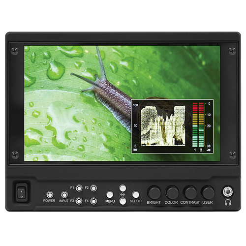 """Marshall Electronics V-LCD70MD-3G 7"""" On-Camera Monitor with HDMI and 3G-SDI Input Module"""