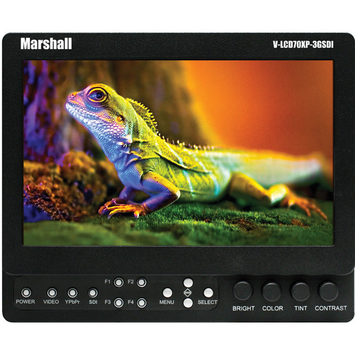 "Marshall Electronics V-LCD70XP-3GSDI-SL 7"" LCD Field Monitor"