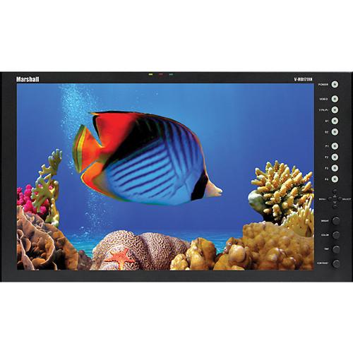 "Marshall Electronics V-MD171XN 17"" Desktop Monitor with Modular Input Slots"