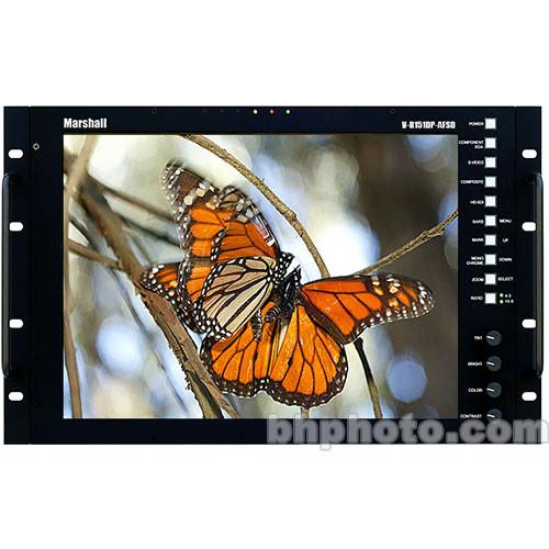 "Marshall Electronics Electronics VR151PAFHD 15"" LCD"