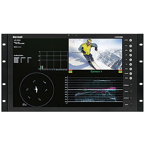"""Marshall Electronics V-R171X-DLW-DT 17"""" Dual Link / Waveform Monitor (Desktop)"""