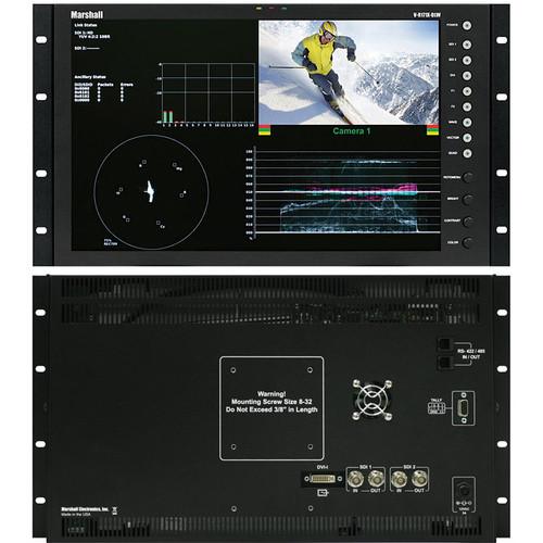 "Marshall Electronics V-R171X-DLW 17"" Dual Link / Waveform Monitor"