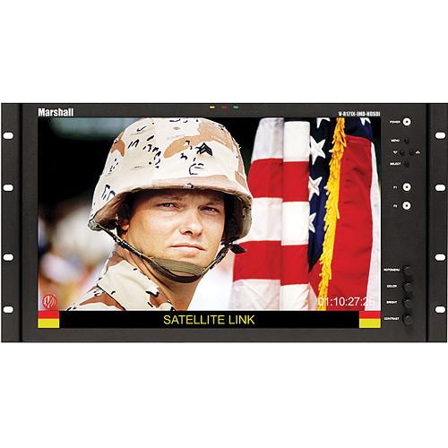 "Marshall Electronics V-R171X-IMD-HDSDI 17"" Rack Mount / Desktop LCD Monitor"