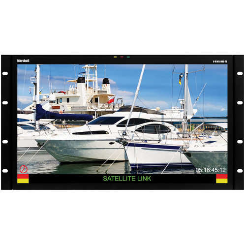 "Marshall Electronics 18.5"" Rack Mount LCD Monitor with 3G-SDI and IMD"