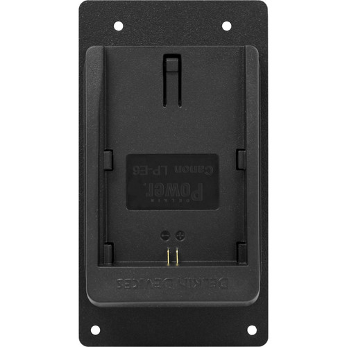 Marshall Electronics Battery Plate for Canon LP-E6-Type Batteries