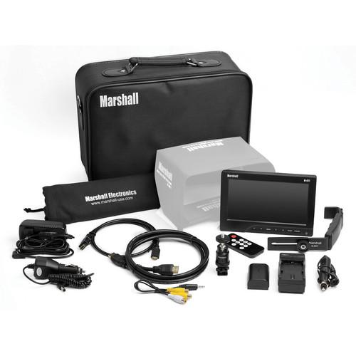 "Marshall Electronics M-CT7 7"" Portable Camera Top Field Monitor Kit"