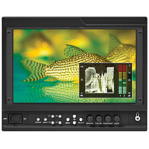 "Marshall Electronics V-LCD90MD-O 9"" On-Camera Monitor with HDMI and Dual SDI Output Module"