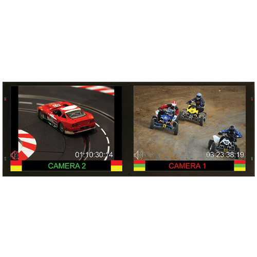 """Marshall Electronics Dual 10.4"""" Rack Mounted Monitor Set with 3G/HD/SD-SDI"""