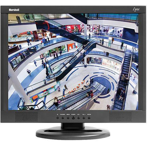"Marshall Electronics M-Lynx-15-CM 15"" 4:3 LCD Lynx Monitor w/Ceiling Mount"