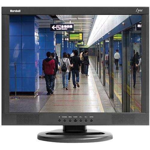 "Marshall Electronics M-Lynx-17-WM 17"" Lynx Series LCD Monitor with Wall Mount"