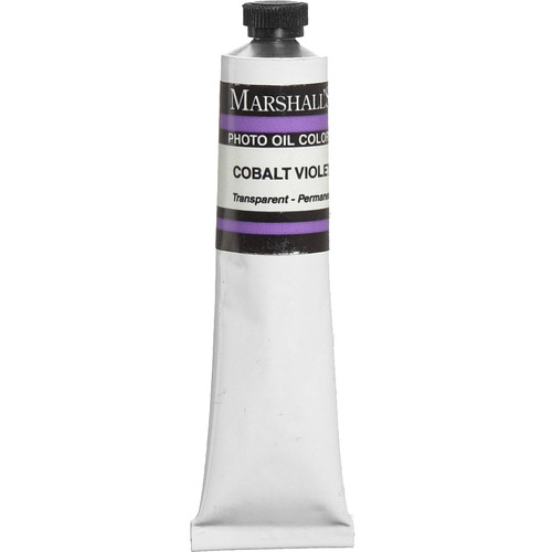 "Marshall Retouching Oil Color Paint: Cobalt Violet - 3/4x4"" Tube"