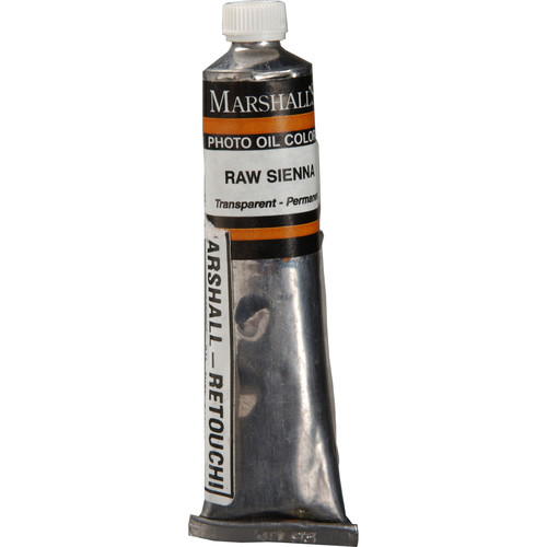 "Marshall Retouching Oil Color Paint: Raw Sienna - 3/4x4"" Tube"