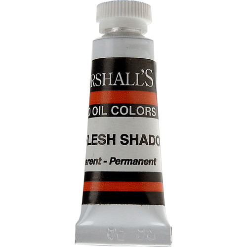 "Marshall Retouching Oil Color Paint: Combination Flesh Shadow - 1/2x2"" Tube"
