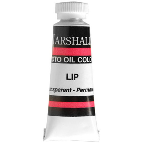 "Marshall Retouching Oil Color Paint: Lip - 1/2x2"" Tube"