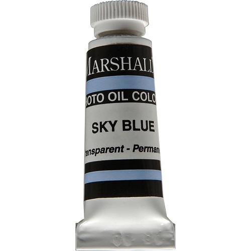 "Marshall Retouching Oil Color Paint: Sky Blue - 1/2x2"" Tube"
