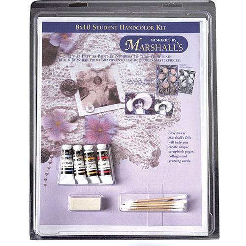 Marshall Retouching MSMMSHK2 Memories by Marshalls Student Handcoloring Kit 4
