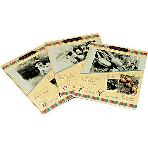 Marshall Retouching Black & White Ready-to-Color Photo Sets - Baby's Room