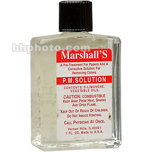 Marshall Retouching P.M.S. Solution - 1 Oz.