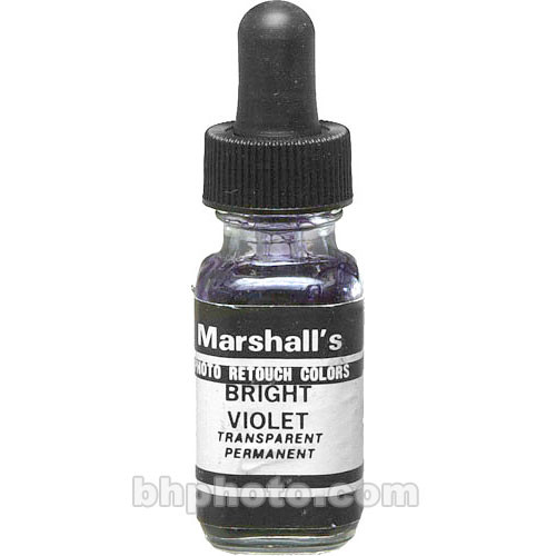 Marshall Retouching Retouch Dye for Black & White or Color Prints - Bright Violet
