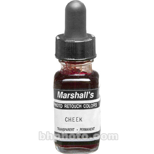 Marshall Retouching Retouch Dye for Black & White or Color Prints - Cheek