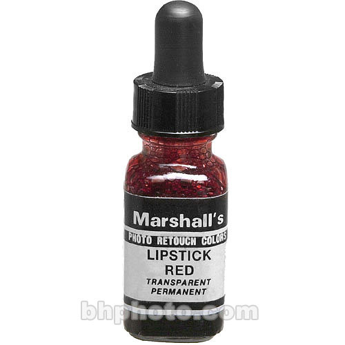 Marshall Retouching Retouch Dye for Black & White or Color Prints - Lipstick Red