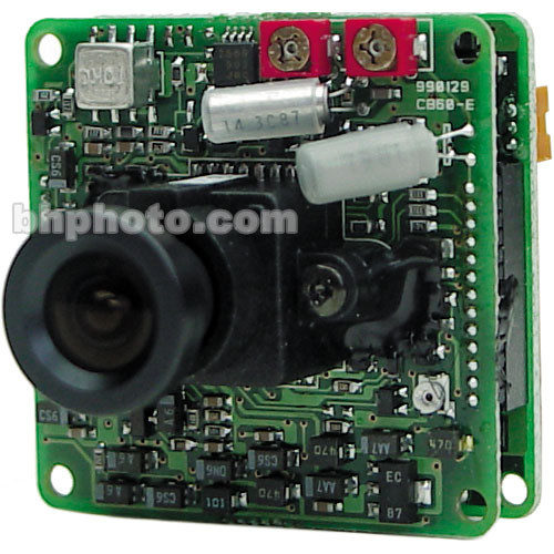 Marshall Electronics V-1255 Color Board Camera for Custom Applications, includes 4mm f/2.5 Lens